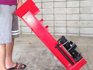 まき割り機で薪ストーブ(まきストーブ)や暖炉の準備を簡単に済ませてみませんか?